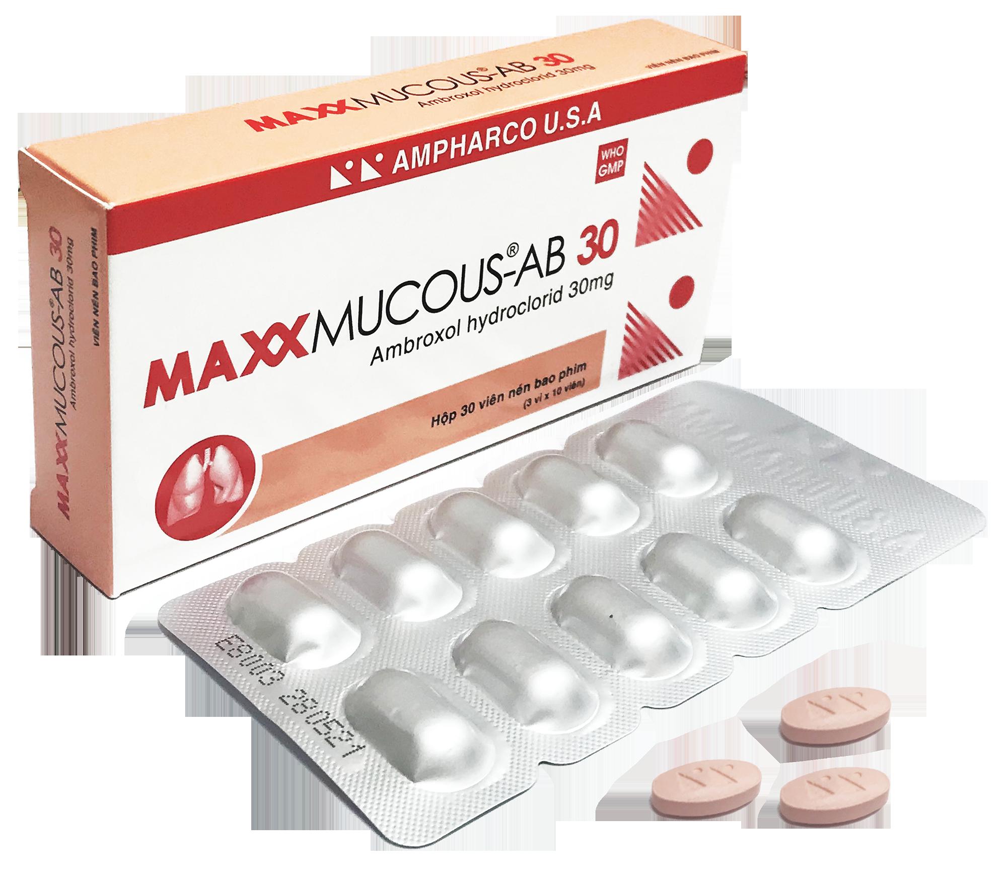 MAXXMUCOUS-AB 30