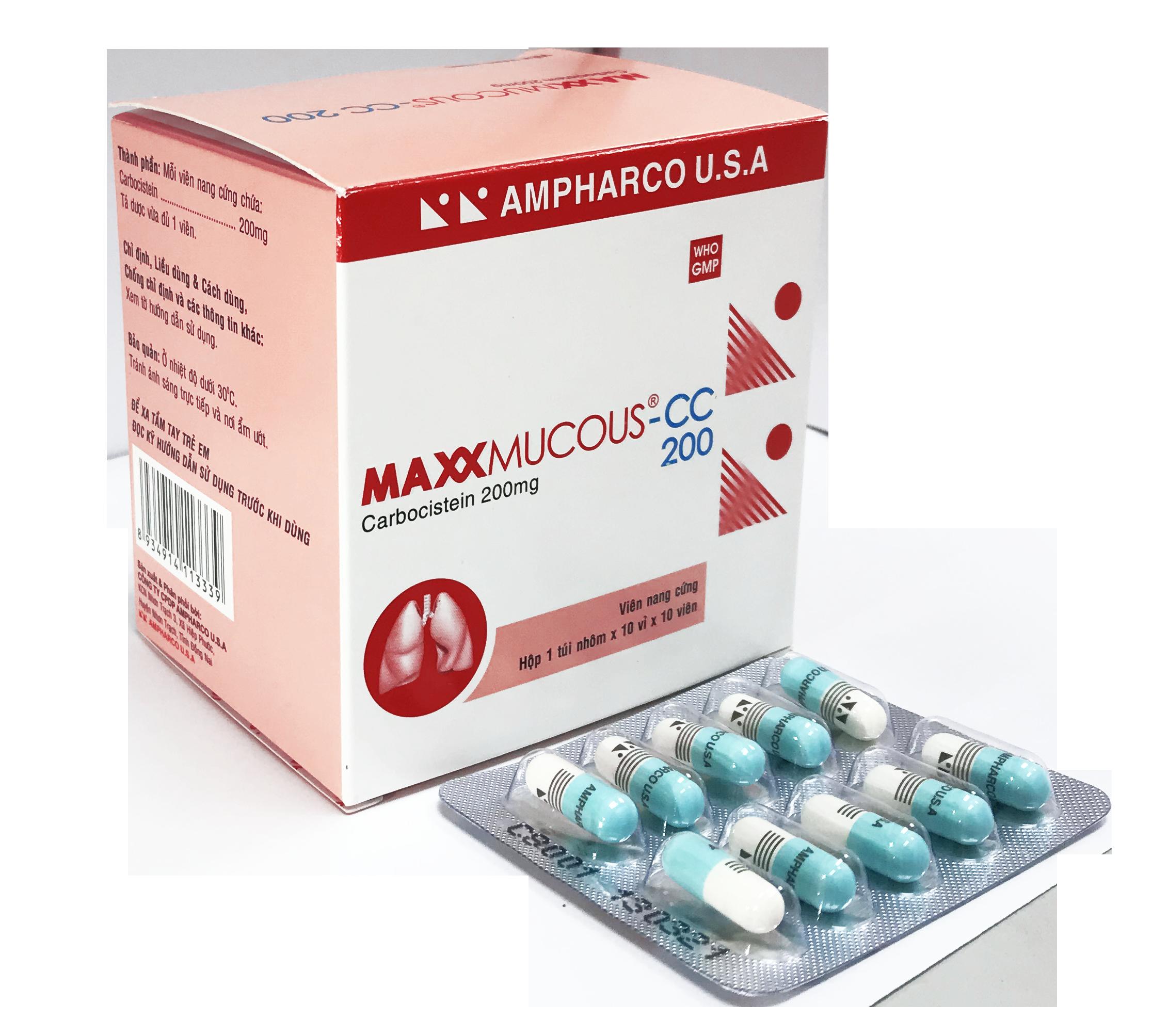 MAXXMUCOUS-CC 200 (Capsule)